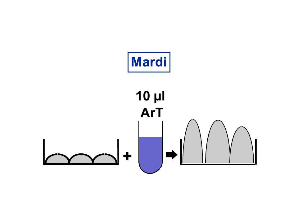 Mardi 10 µl ArT +