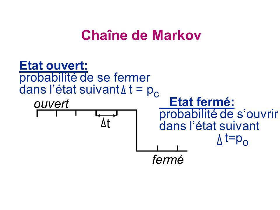 Chaîne de Markov Etat ouvert:
