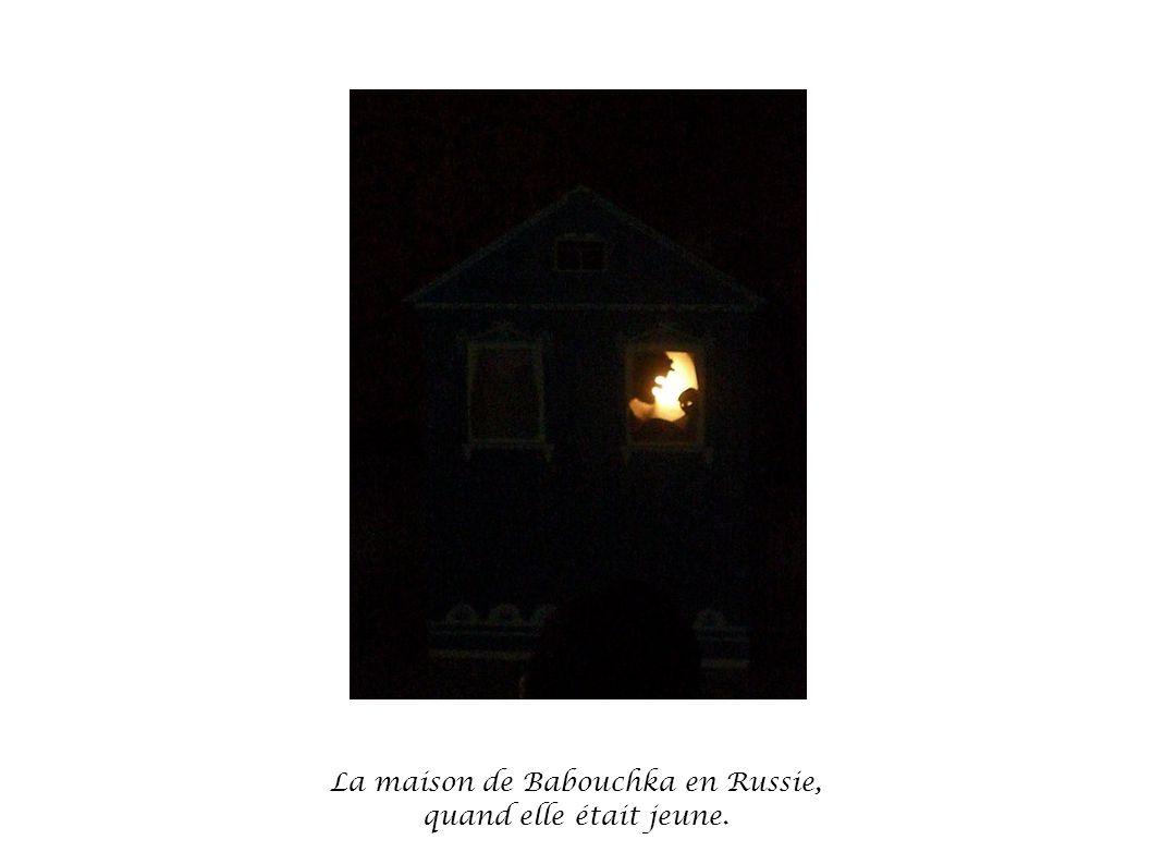 La maison de Babouchka en Russie,