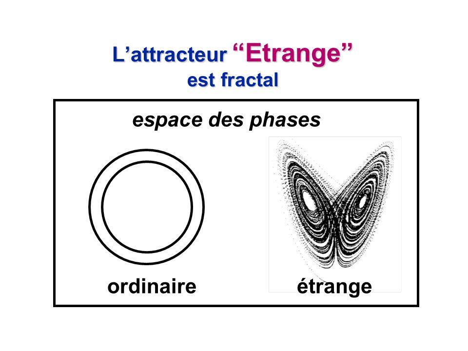 L'attracteur Etrange est fractal