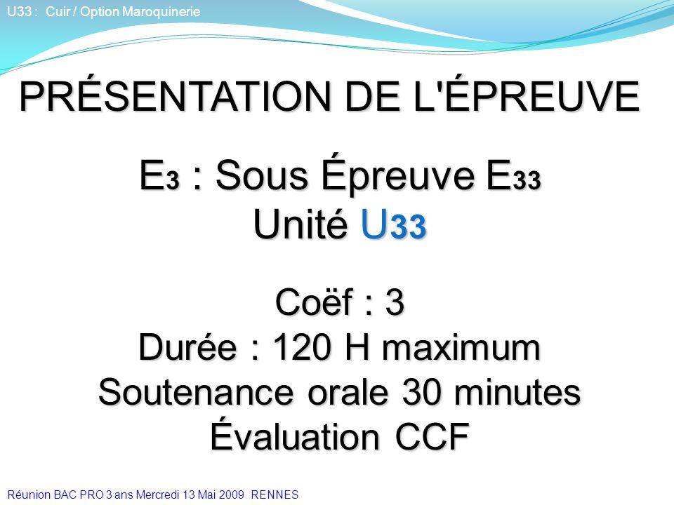 Soutenance orale 30 minutes