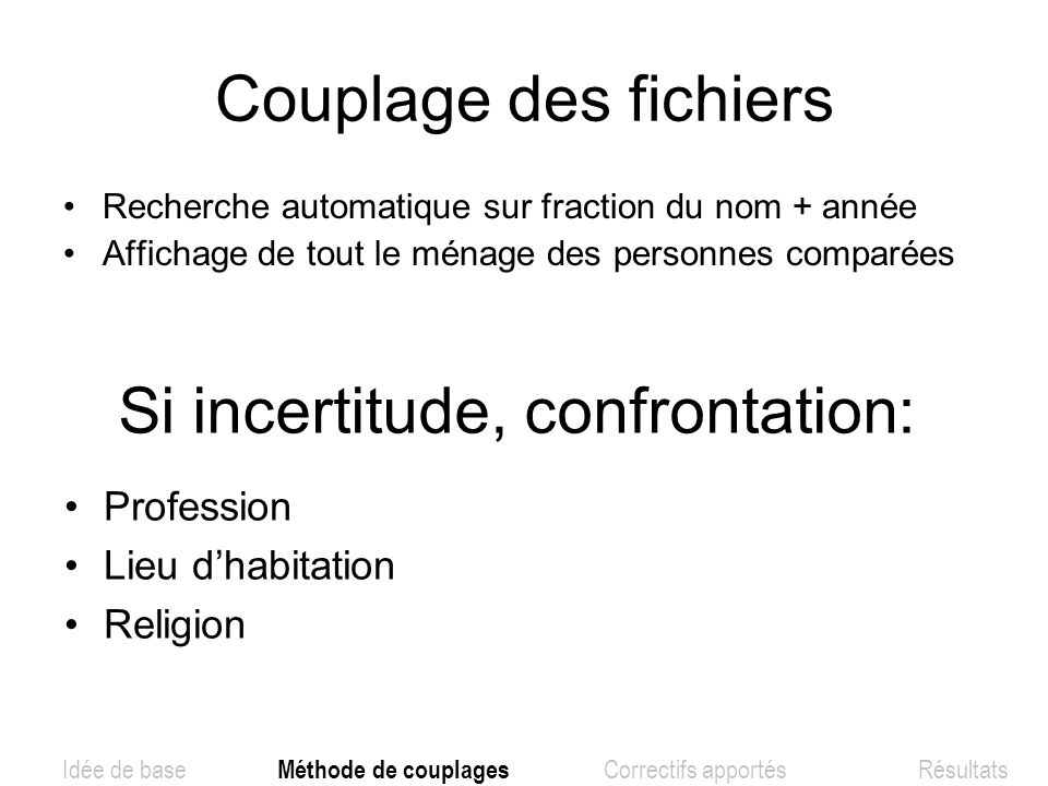 Si incertitude, confrontation: