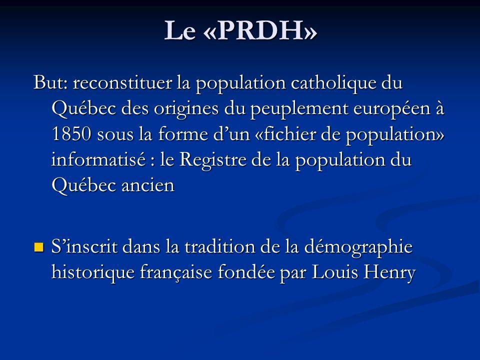 Le «PRDH»