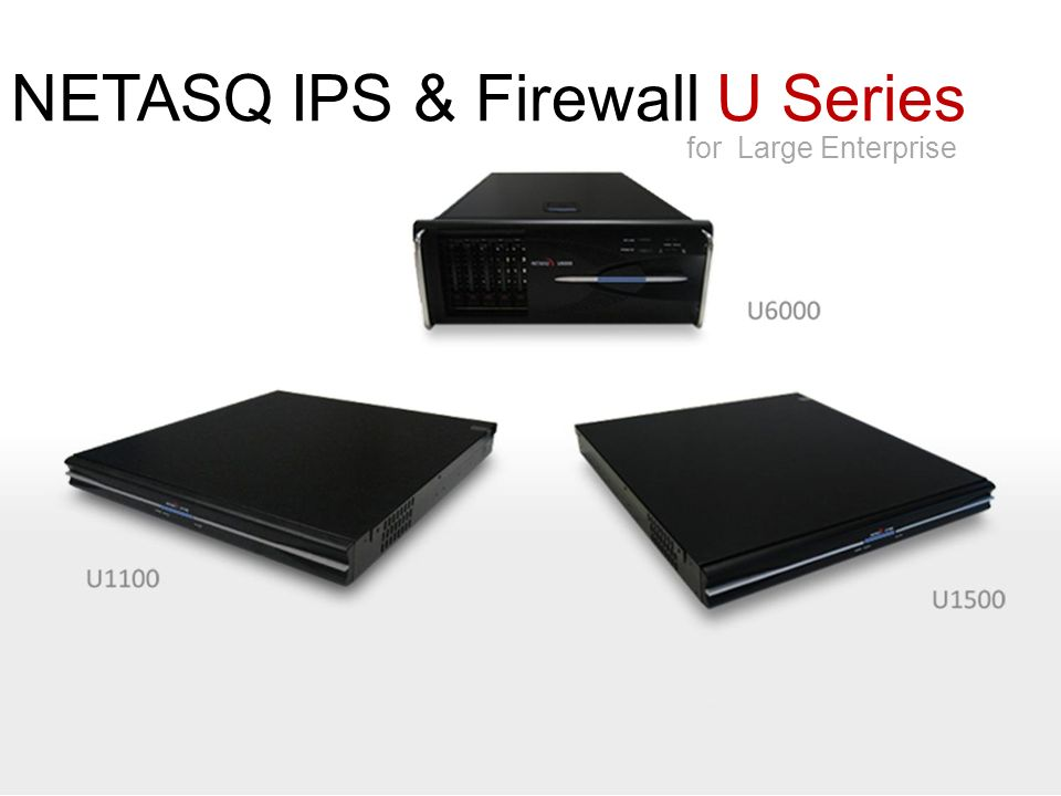 NETASQ IPS & Firewall U Series