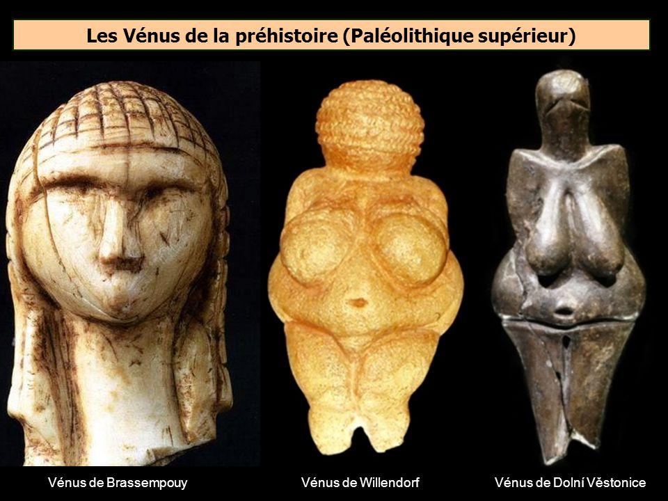 Les Vénus de la préhistoire (Paléolithique supérieur)