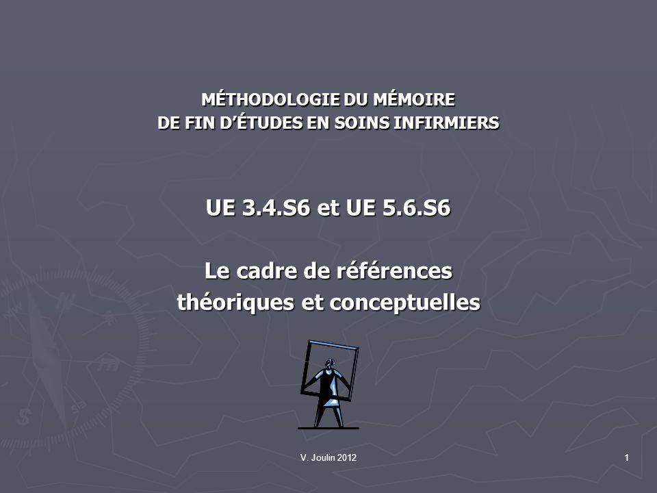 théoriques et conceptuelles