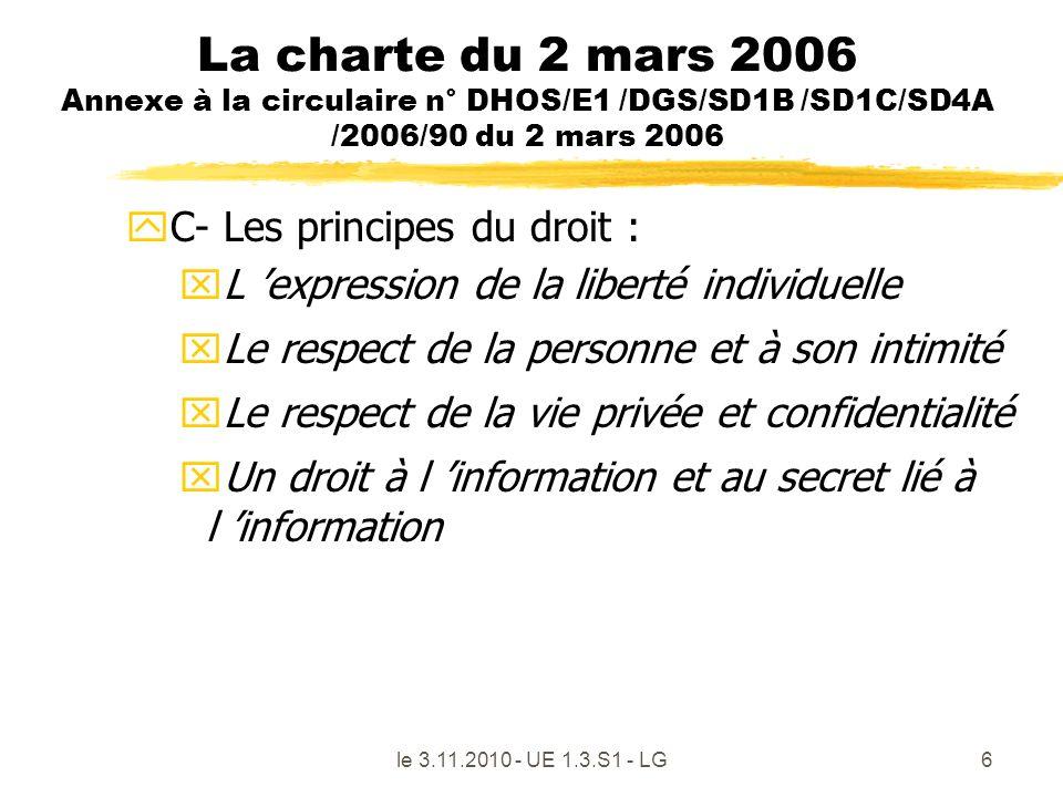 La charte du 2 mars 2006 Annexe à la circulaire n° DHOS/E1 /DGS/SD1B /SD1C/SD4A /2006/90 du 2 mars 2006