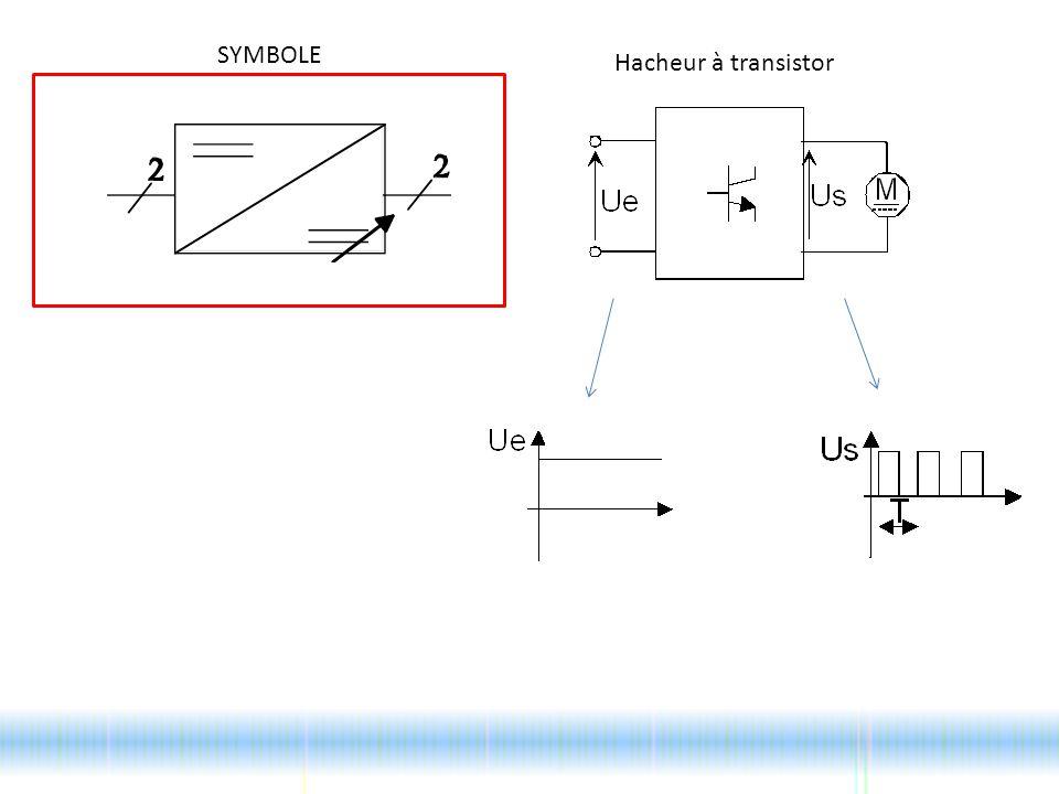 SYMBOLE Hacheur à transistor
