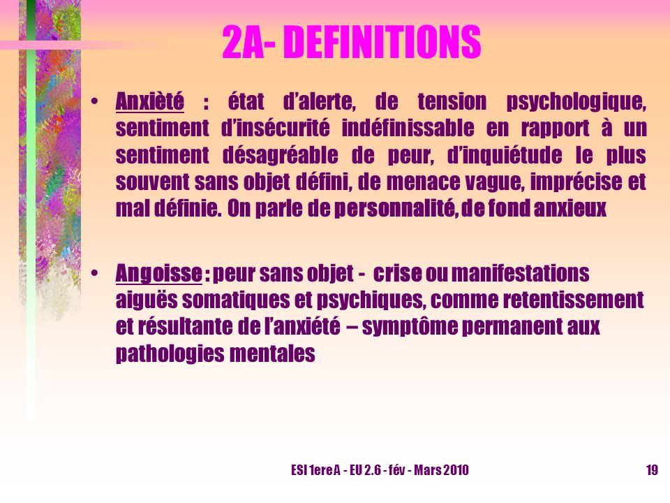 2A- DEFINITIONS
