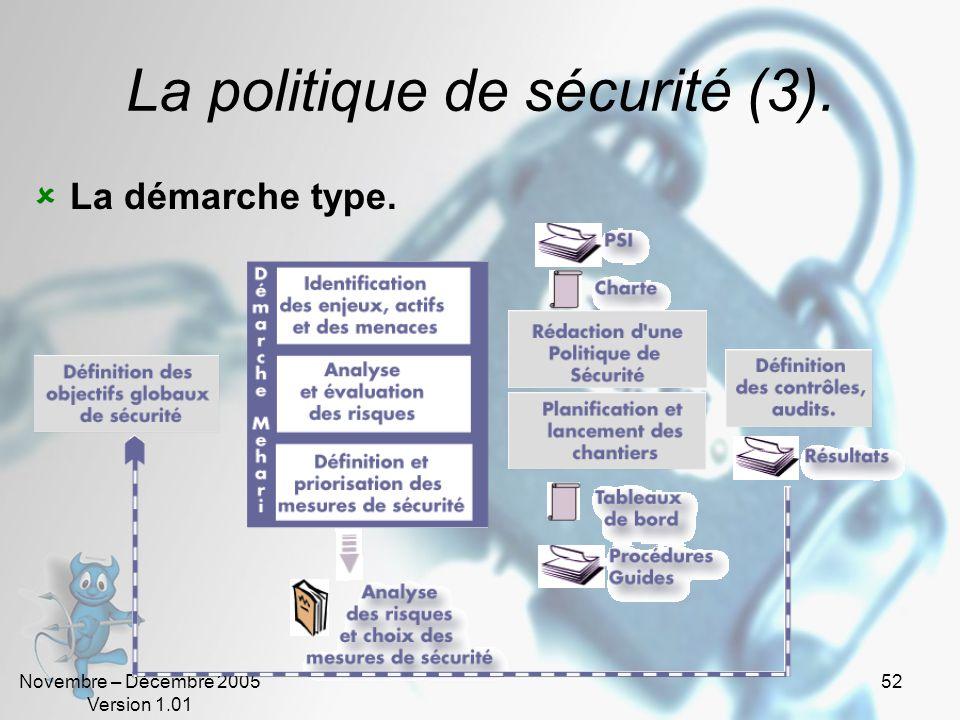 La politique de sécurité (3).