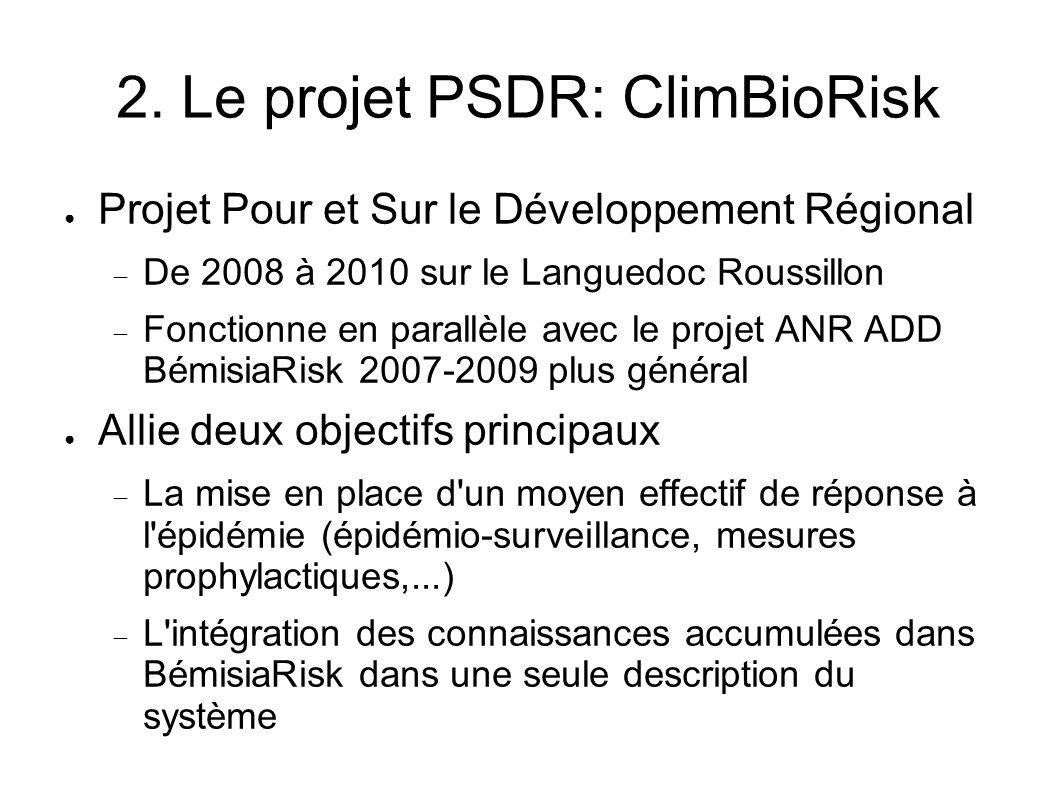 2. Le projet PSDR: ClimBioRisk