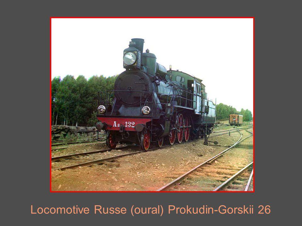 Locomotive Russe (oural) Prokudin-Gorskii 26