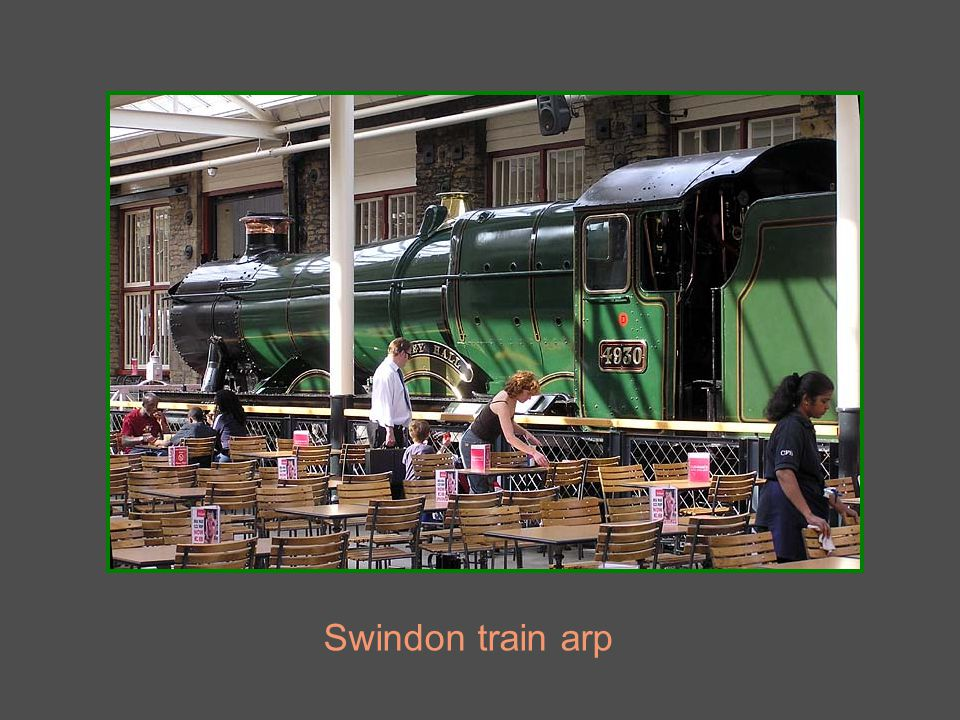 Swindon train arp