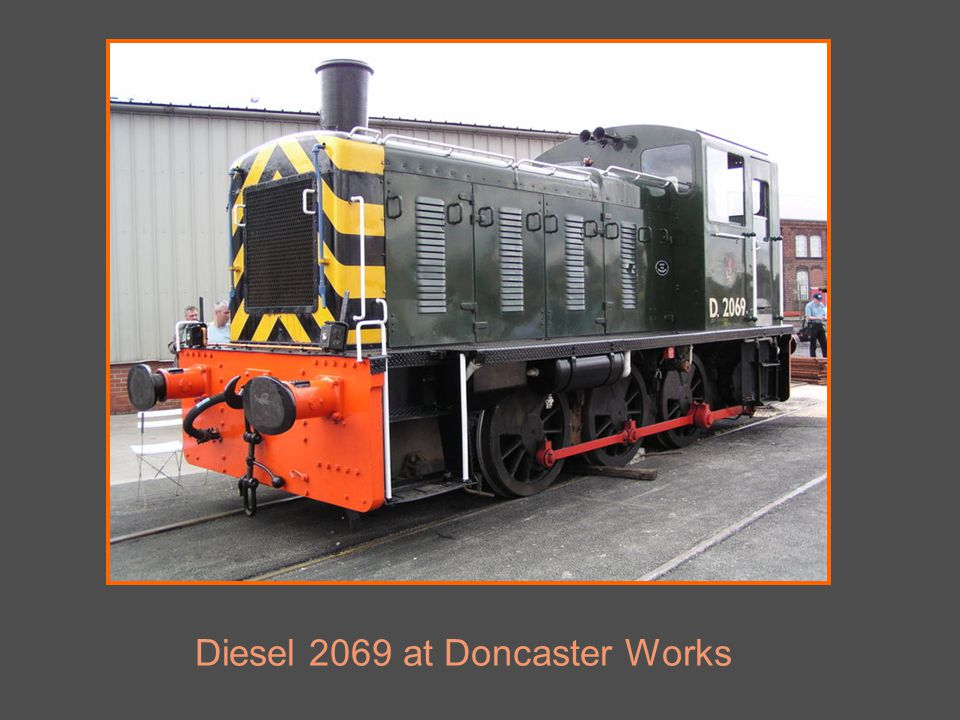 Diesel 2069 at Doncaster Works
