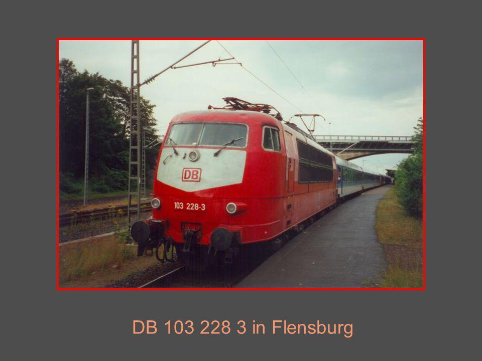 DB 103 228 3 in Flensburg