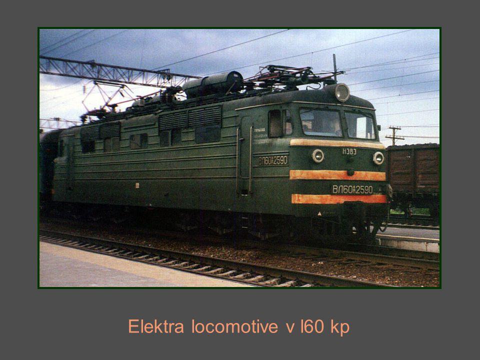Elektra locomotive v l60 kp