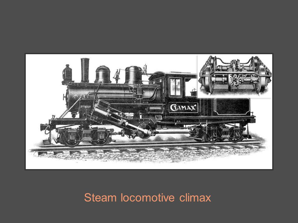 Steam locomotive climax