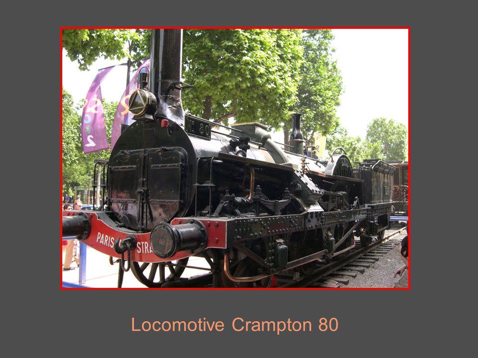 Locomotive Crampton 80