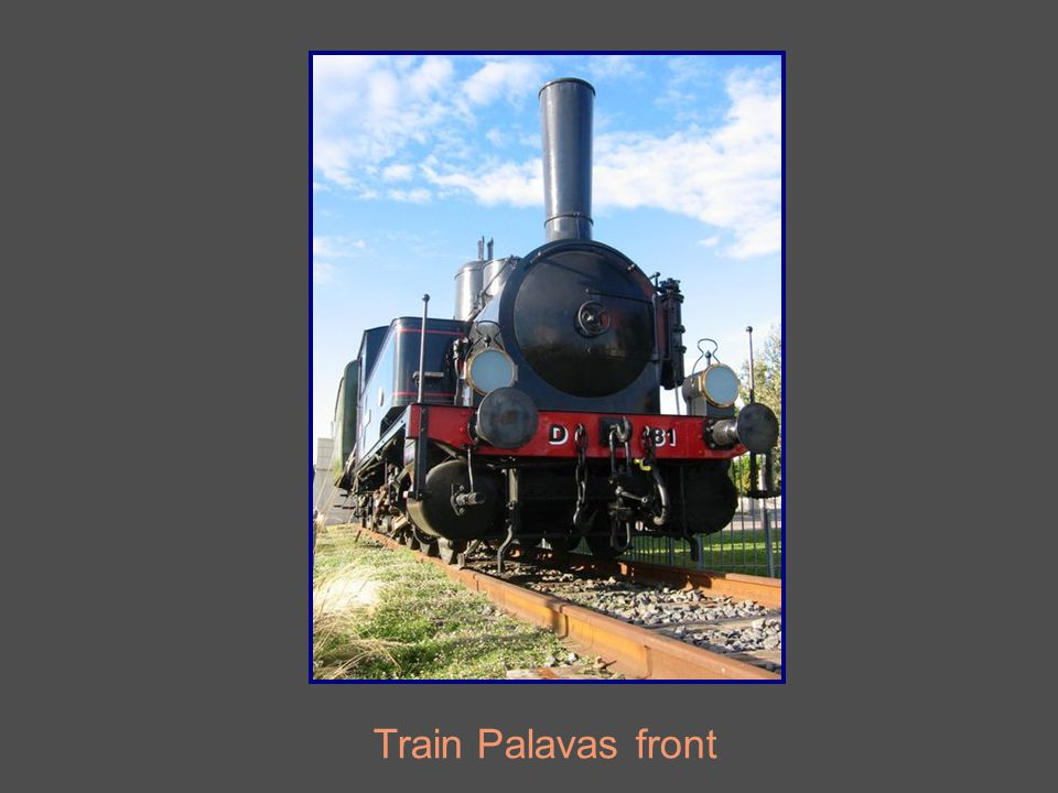Train Palavas front