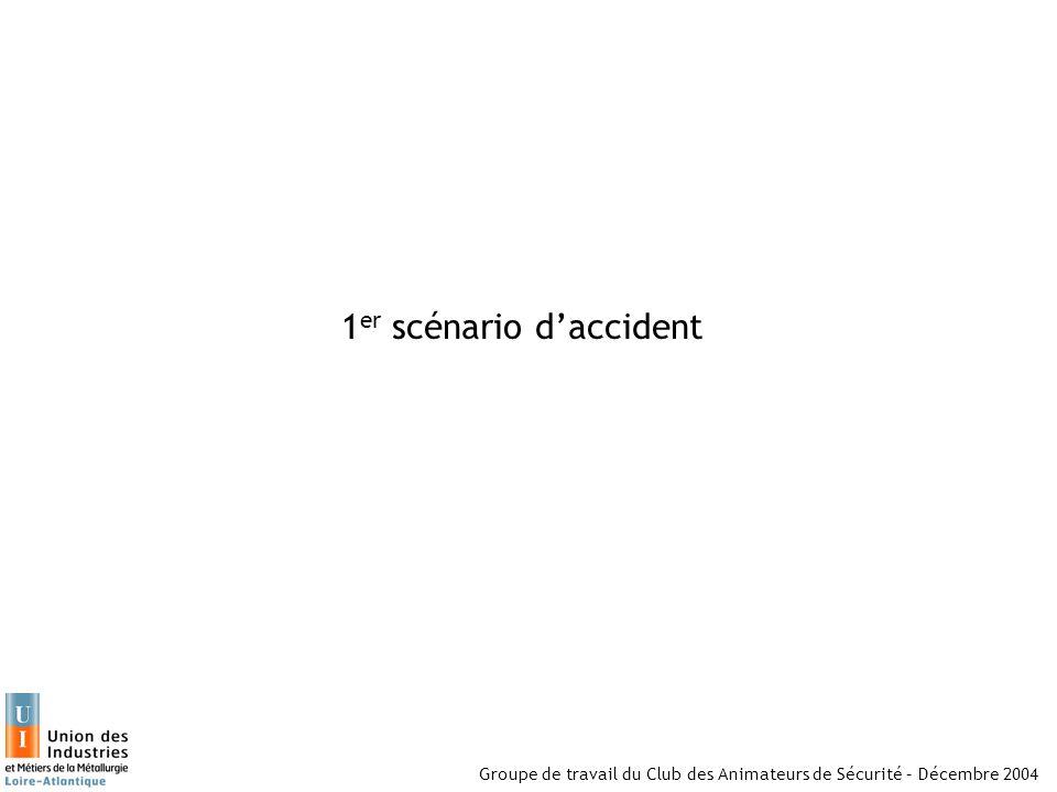 1er scénario d'accident