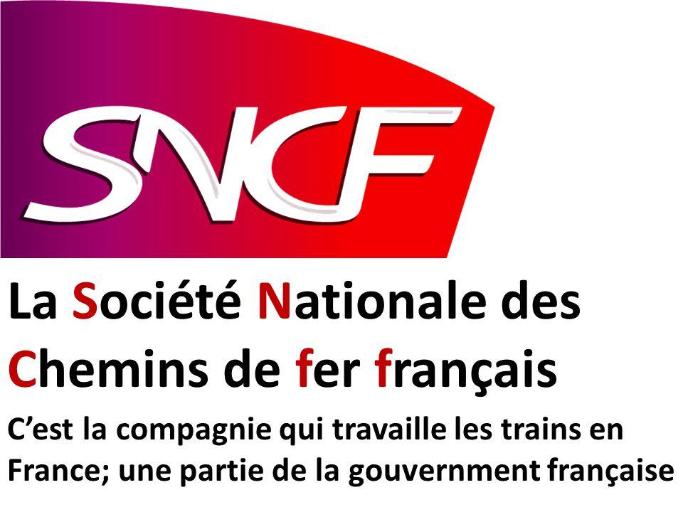 La Société Nationale des Chemins de fer français