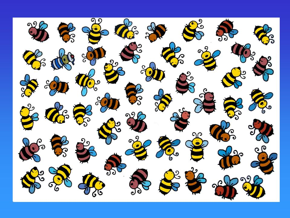 What about little bees. Here, there are 53 bees. How do we do this