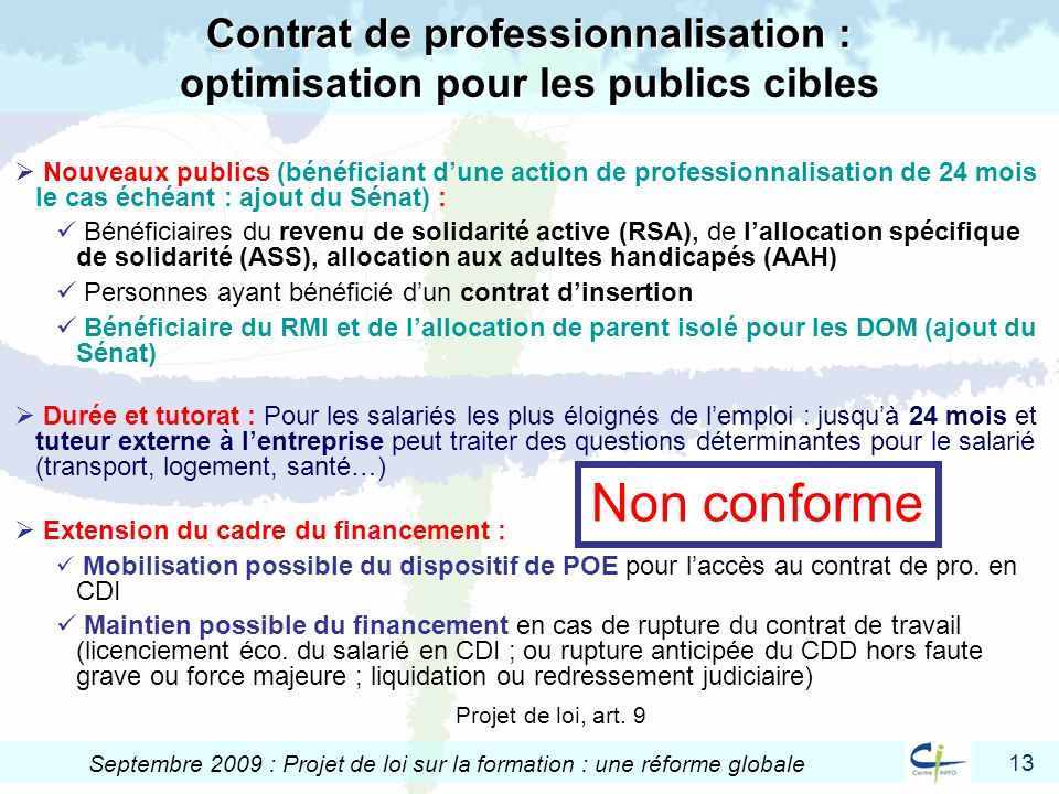 Contrat de professionnalisation : optimisation pour les publics cibles