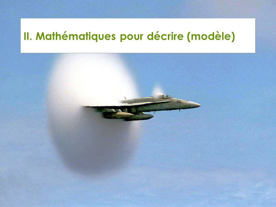 II. Mathématiques pour décrire (modèle)