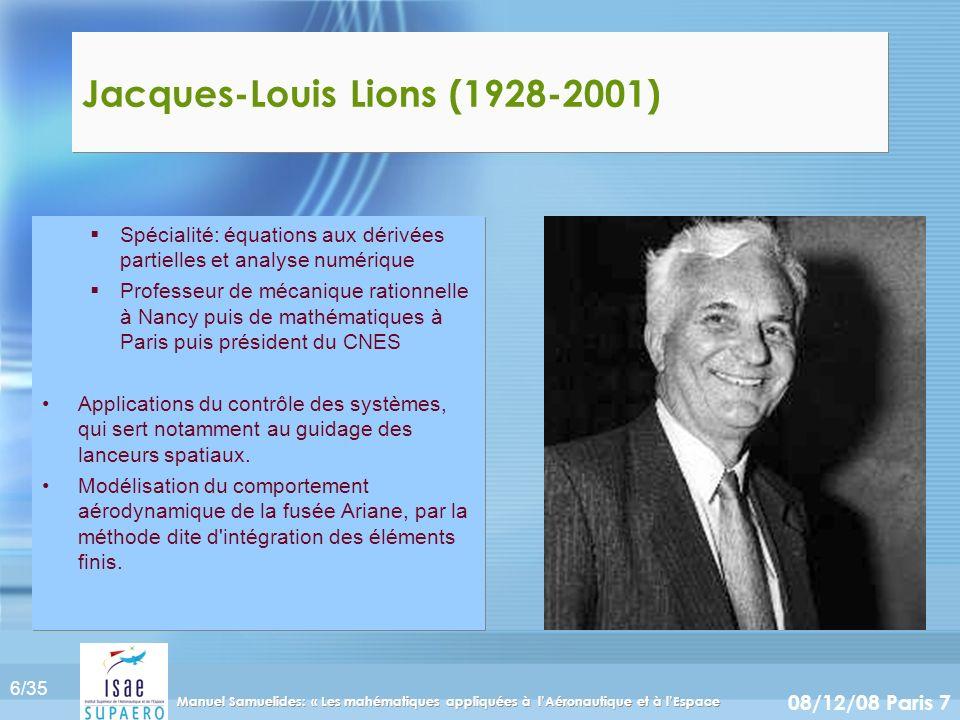 Jacques-Louis Lions (1928-2001)