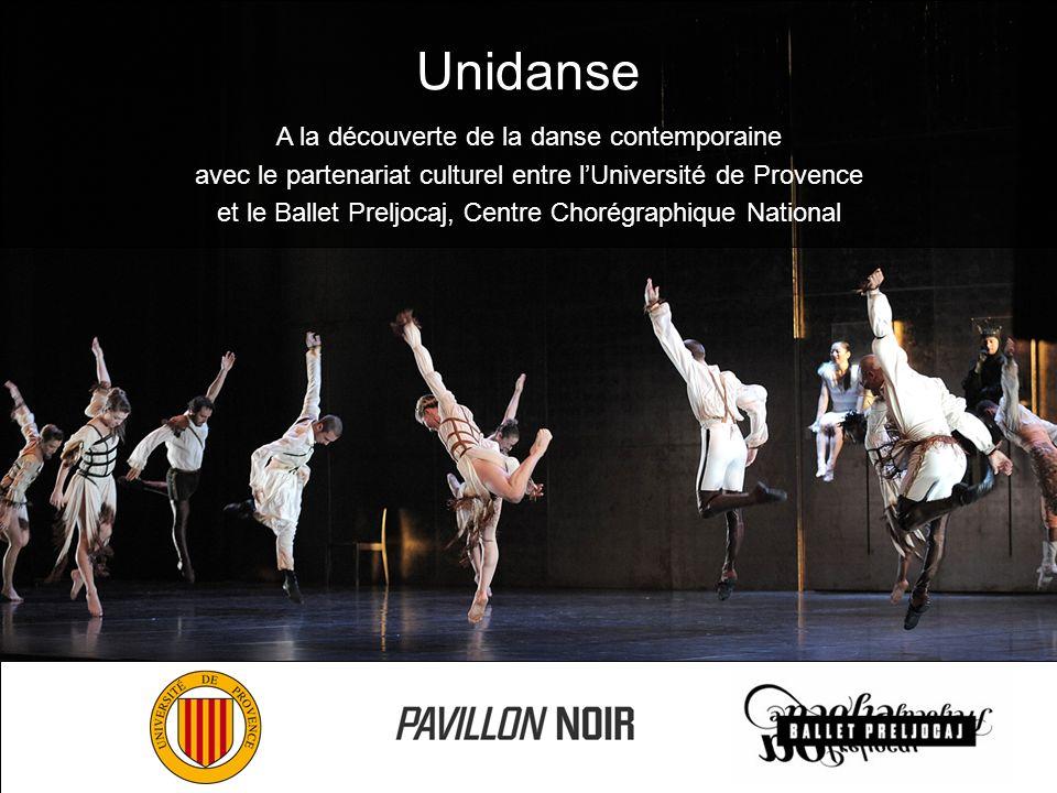 Unidanse A la découverte de la danse contemporaine