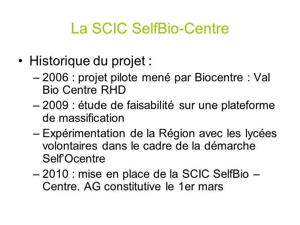 La SCIC SelfBio-Centre