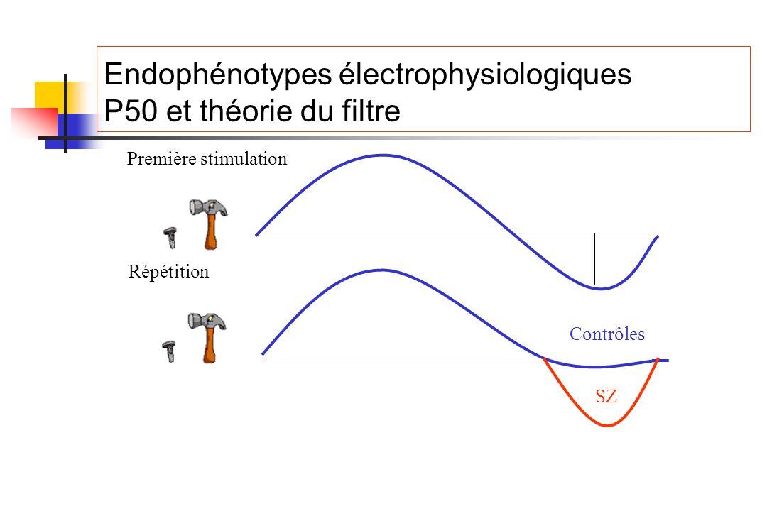 Endophénotypes électrophysiologiques P50 et théorie du filtre