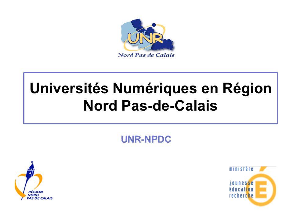 Universités Numériques en Région