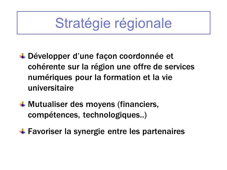 Stratégie régionale