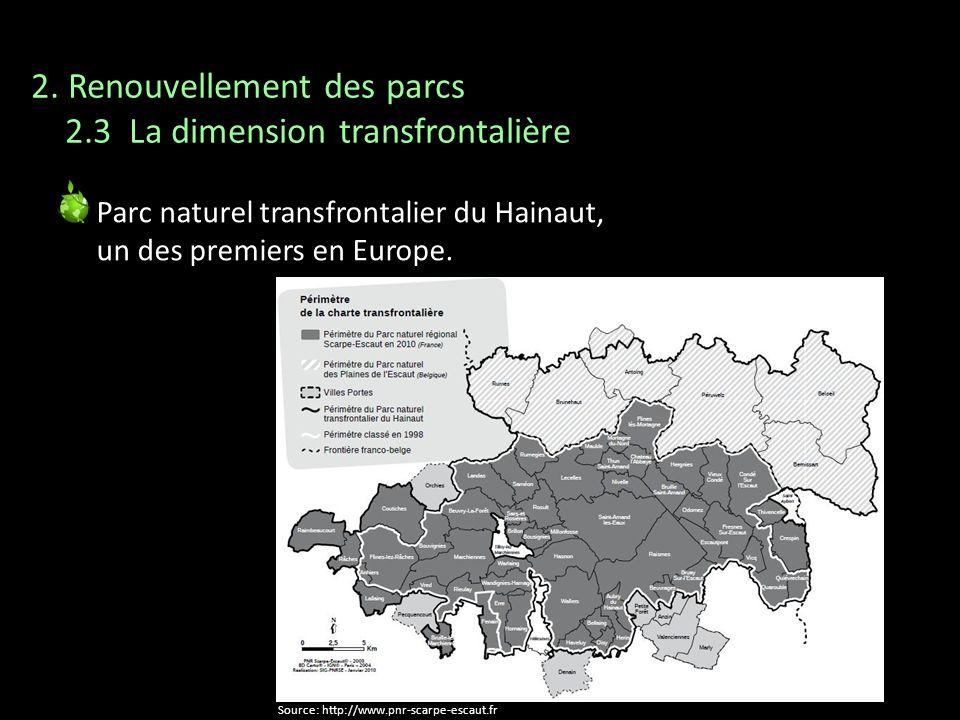 2. Renouvellement des parcs 2.3 La dimension transfrontalière