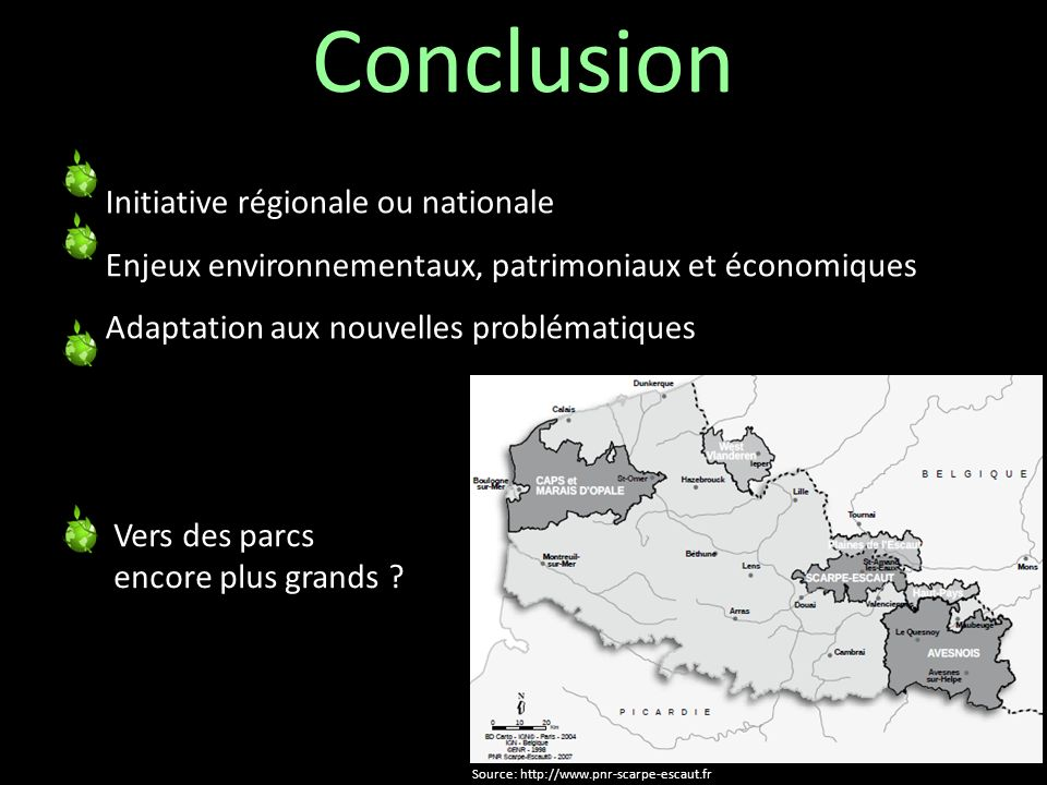 Conclusion Initiative régionale ou nationale k
