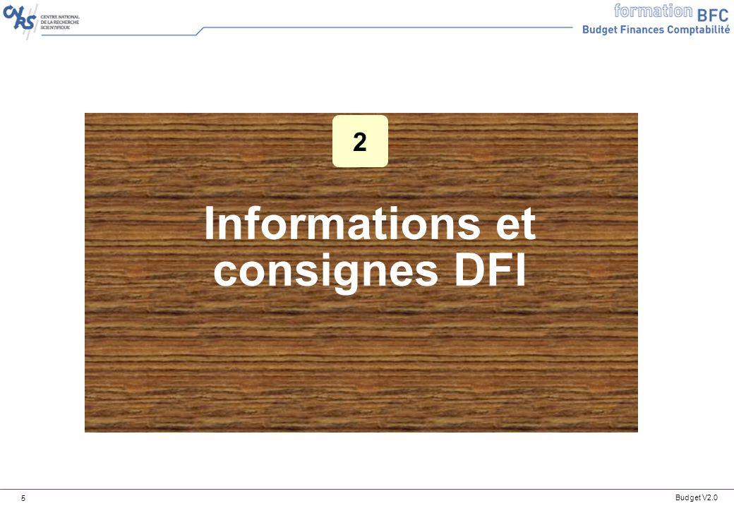Informations et consignes DFI