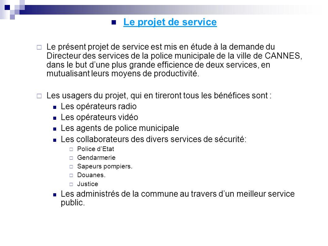 Le projet de service