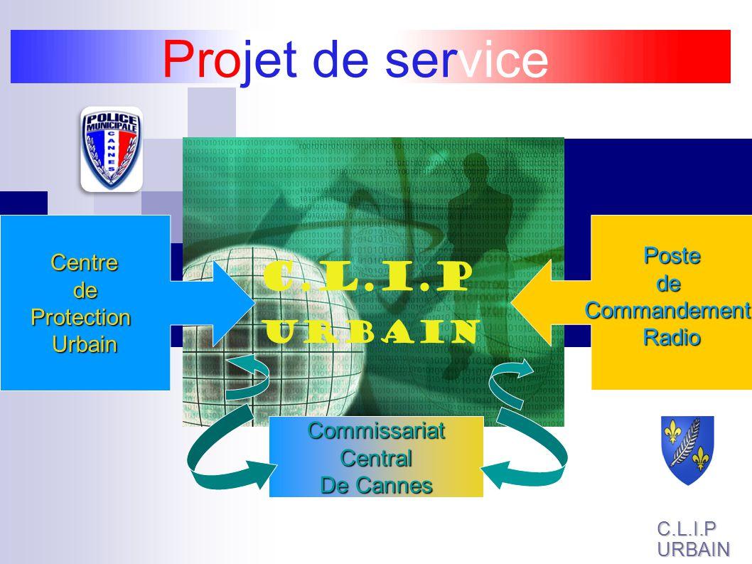 Projet de service C.L.I.P URBAIN Poste Centre de de Commandement