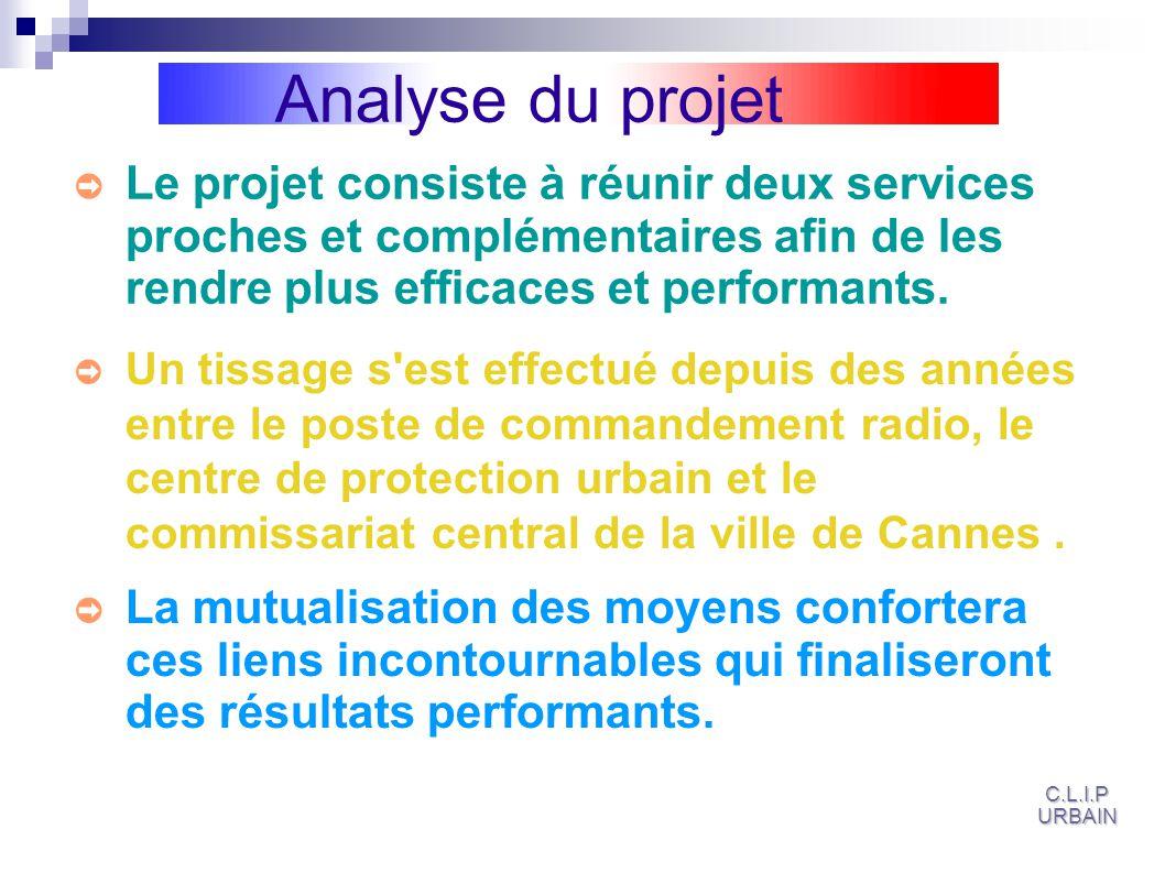 Analyse du projet Le projet consiste à réunir deux services proches et complémentaires afin de les rendre plus efficaces et performants.