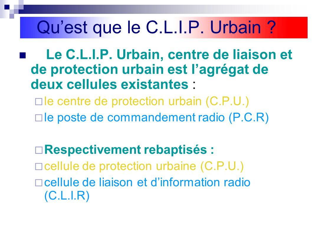 Qu'est que le C.L.I.P. Urbain