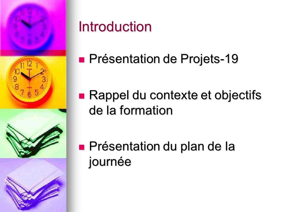 Introduction Présentation de Projets-19