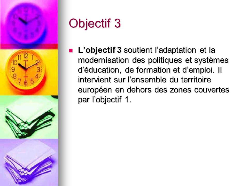 Objectif 3