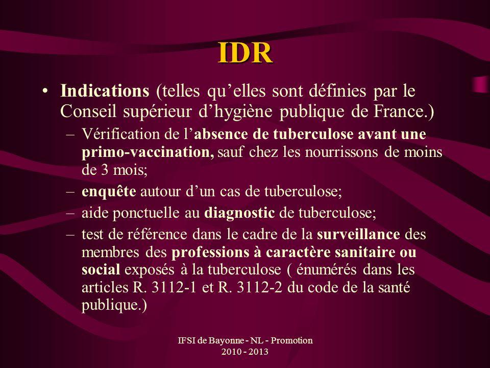 IFSI de Bayonne - NL - Promotion 2010 - 2013