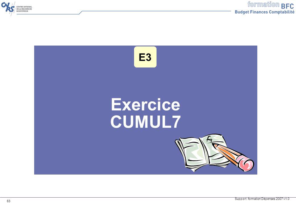 E3 Exercice CUMUL7