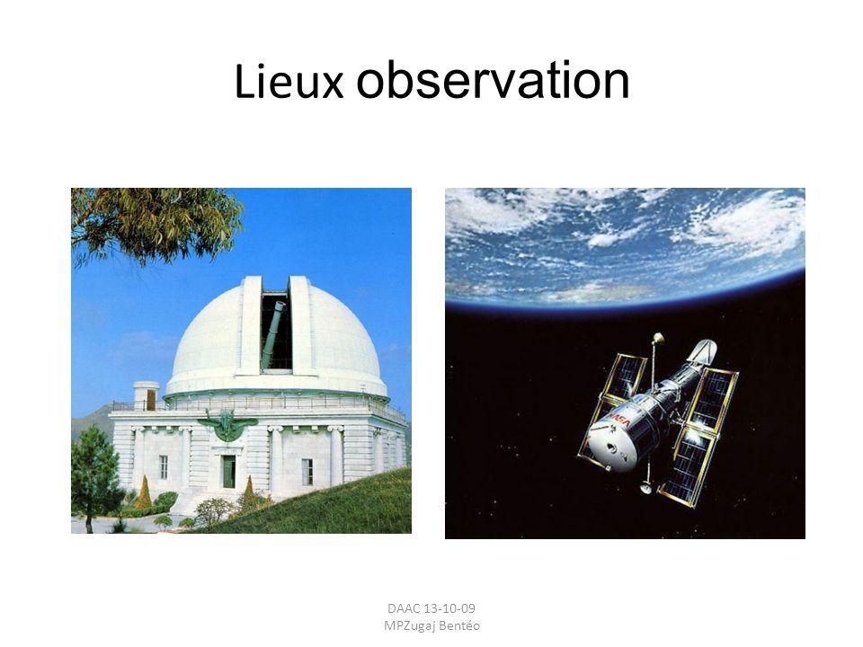 Lieux observation DAAC 13-10-09 MPZugaj Bentéo.
