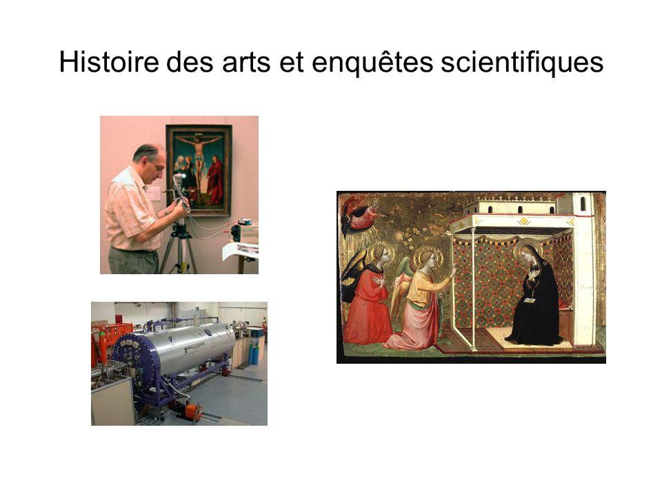Histoire des arts et enquêtes scientifiques