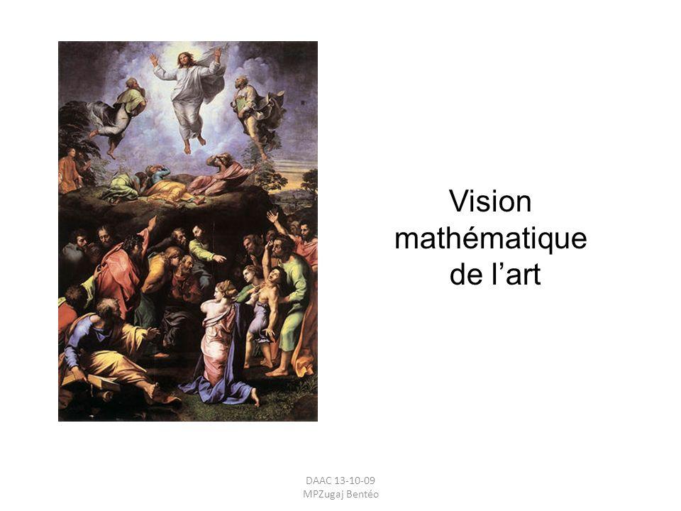 Vision mathématique de l'art