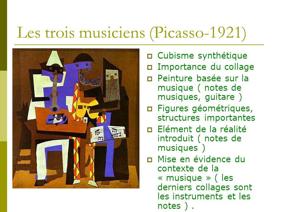 Les trois musiciens (Picasso-1921)