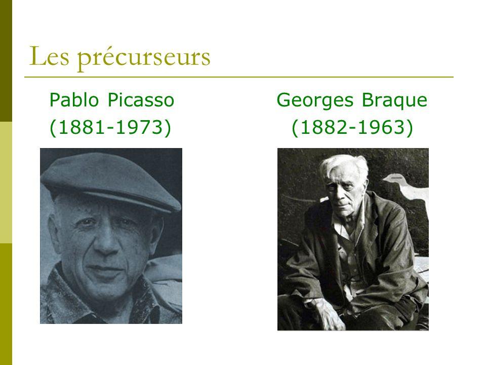 Les précurseurs Pablo Picasso Georges Braque (1881-1973) (1882-1963)